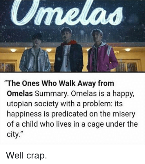 the lottery and the ones who walk away from omelas essay