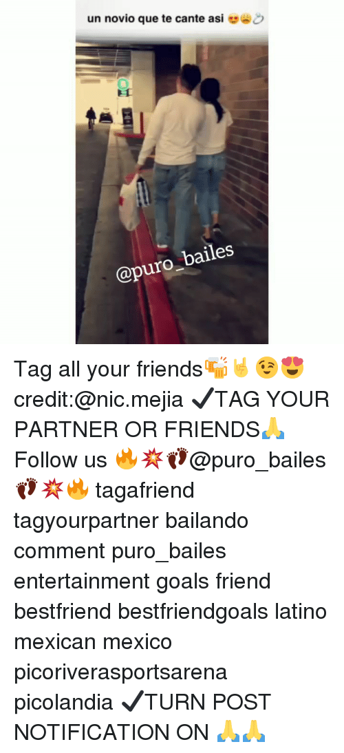 Friends, Goals, and Memes: un novio que te cante asi  @puro_bailes Tag all your friends🍻🤘😉😍 credit:@nic.mejia ✔TAG YOUR PARTNER OR FRIENDS🙏 Follow us 🔥💥👣@puro_bailes👣💥🔥 tagafriend tagyourpartner bailando comment puro_bailes entertainment goals friend bestfriend bestfriendgoals latino mexican mexico picoriverasportsarena picolandia ✔TURN POST NOTIFICATION ON 🙏🙏