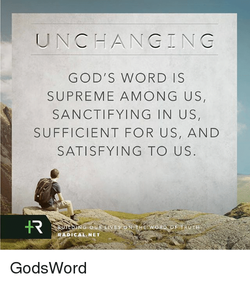 """is the word of god sufficient Who would not tremble at the enormity of the implications that attend the ministry of the word """"who is sufficient for but our sufficiency is from god who has."""