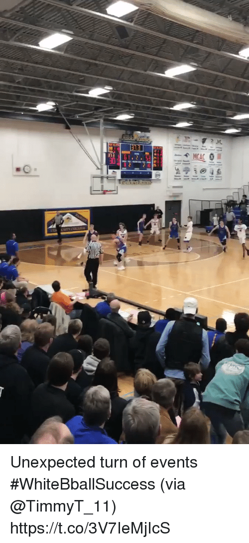 Basketball, White People, and Via: Unexpected turn of events #WhiteBballSuccess (via @TimmyT_11) https://t.co/3V7IeMjIcS