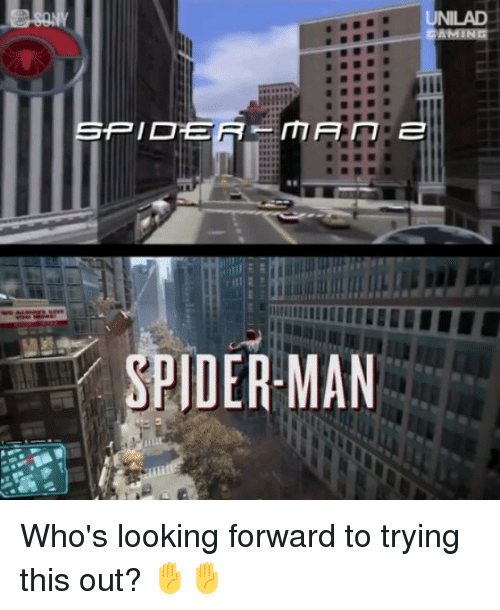 Memes, Spider, and SpiderMan: UNILAD  RICE  SPIDER- MAN Who's looking forward to trying this out? ✋✋