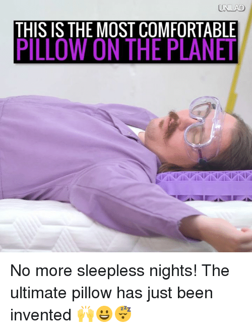 most comfortable pillow unilad this is the most comfortable pillow on the planet 13135