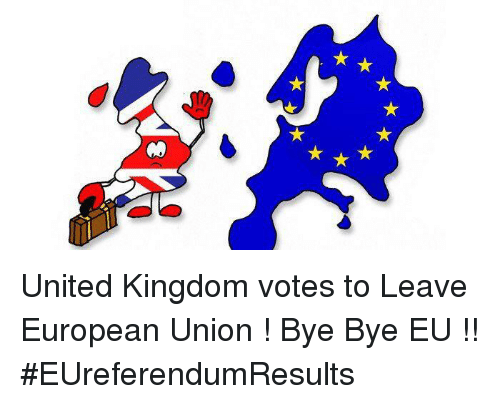 Image result for bye to eu