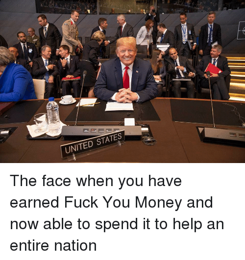 Fuck You, Money, and Fuck: UNITED STATES