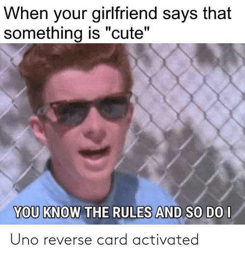 Reverse Card: Uno reverse card activated