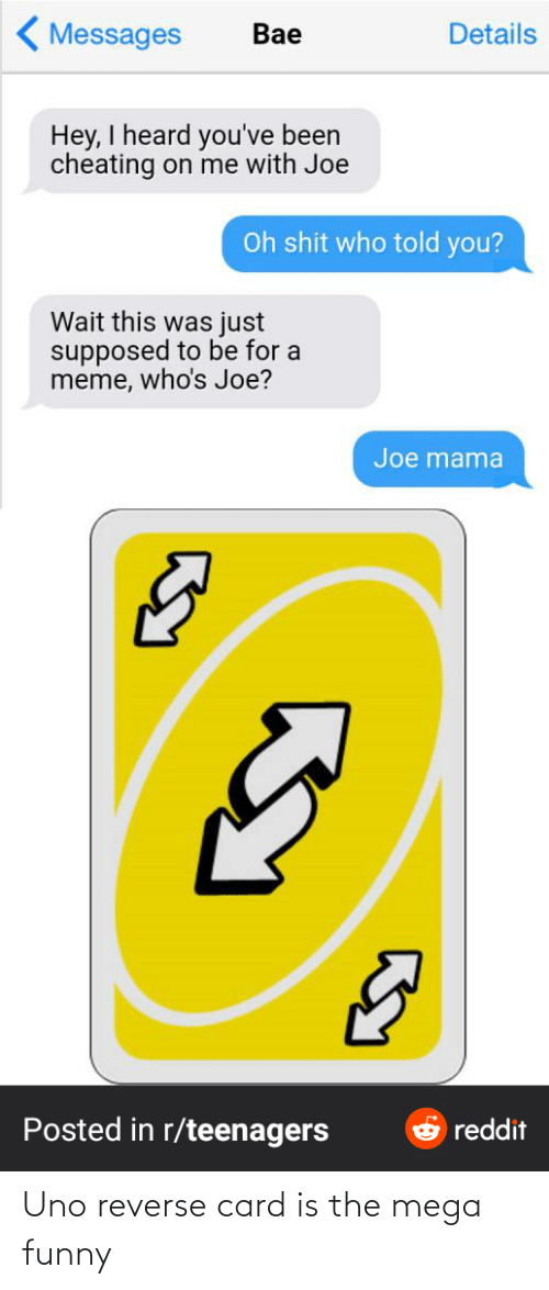 Reverse Card: Uno reverse card is the mega funny