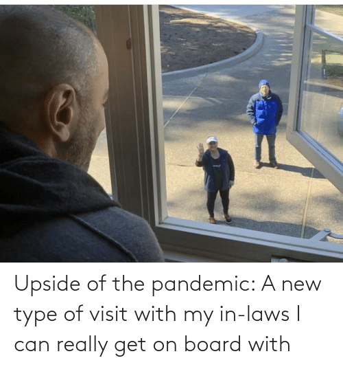 in laws: Upside of the pandemic: A new type of visit with my in-laws I can really get on board with