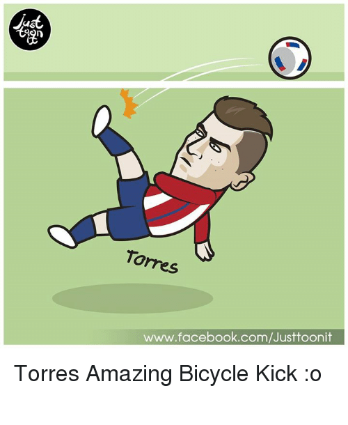 torr: us  Torres  www.facebook.com/Justtoonit Torres Amazing Bicycle Kick :o เมื่อคืนพี่ตอสยิงท่ายาก