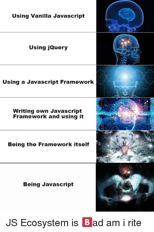 Writing your own javascript framework