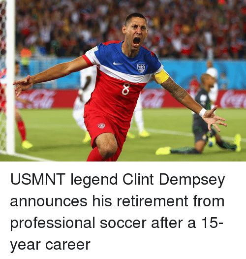 usmnt: USMNT legend Clint Dempsey announces his retirement from professional soccer after a 15-year career