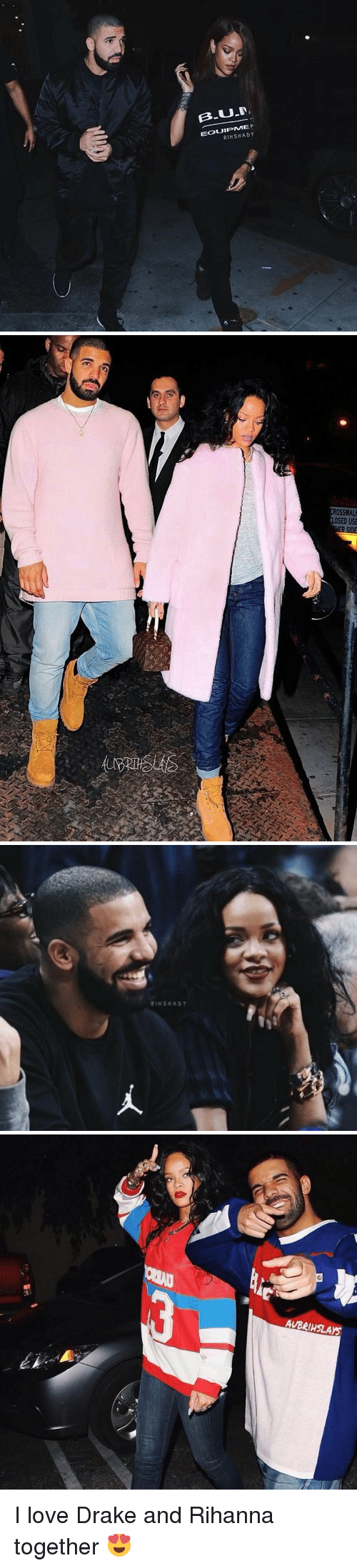love drake: UT  RIHSHADY   RIH SHADY   AUBeiHSLAYS I love Drake and Rihanna together 😍