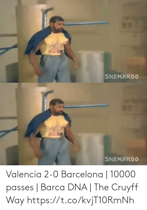 Barcelona: Valencia 2-0 Barcelona | 10000 passes | Barca DNA | The Cruyff Way  https://t.co/kvjT10RmNh