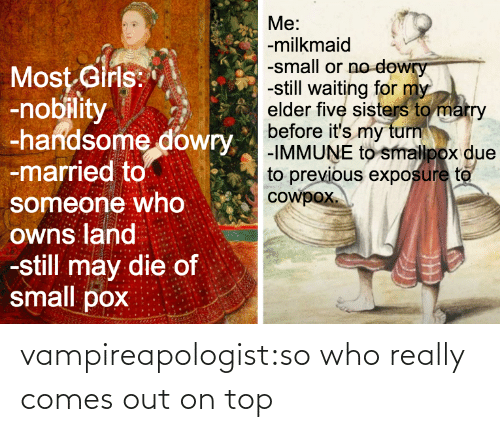 On Top: vampireapologist:so who really comes out on top