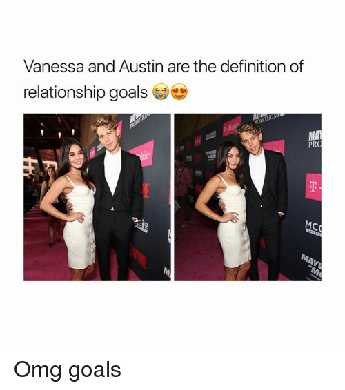 Goals, Omg, and Relationship Goals: Vanessa and Austin are the definition of  relationship goals  MA  PRO  MC Omg goals