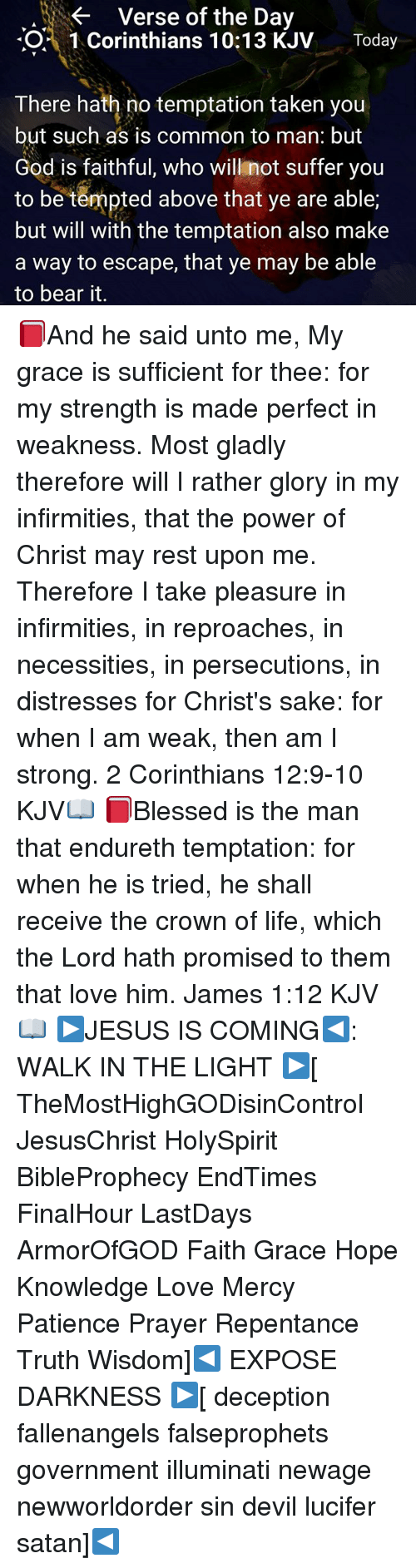 verse of the day o 1 corinthians 1013 kjv today there hath no