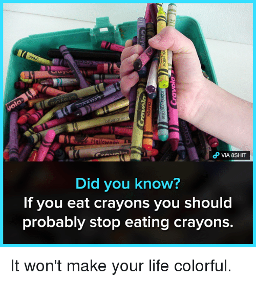 25+ Best Memes About Crayons | Crayons Memes