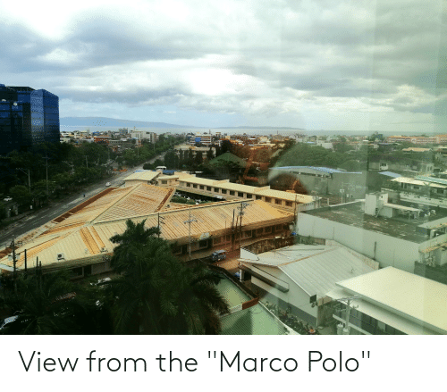 "Polo: View from the ""Marco Polo"""