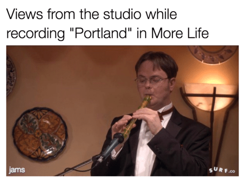 views from the studio while recording portland in more life 16843087 views from the studio while recording portland in more life surf