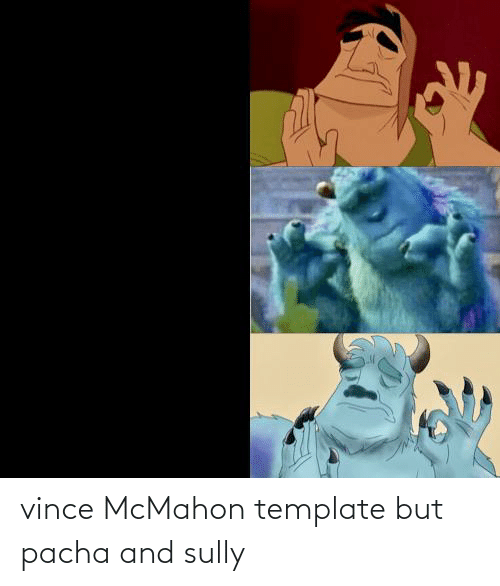 Vince McMahon: vince McMahon template but pacha and sully