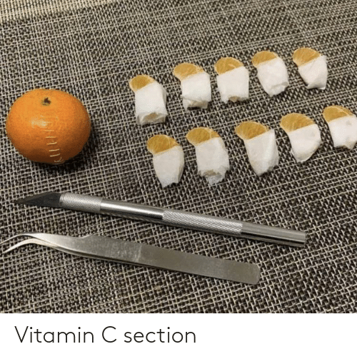 Section: Vitamin C section