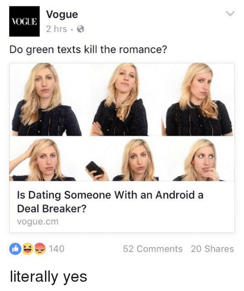 vogue vogue 2 hrs do green texts kill the romance 2901428 vogue vogue 2 hrs do green texts kill the romance? is dating