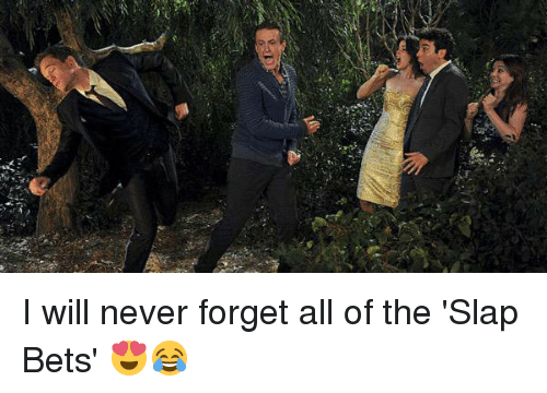 """Memes, The Slap, and 🤖: W""""長 I will never forget all of the 'Slap Bets' 😍😂"""