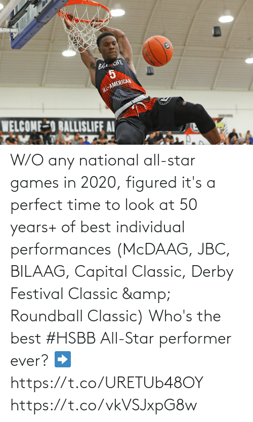 Individual: W/O any national all-star games in 2020, figured it's a perfect time to look at 50 years+ of best individual performances (McDAAG, JBC, BILAAG, Capital Classic, Derby Festival Classic & Roundball Classic)  Who's the best #HSBB All-Star performer ever?   ➡️https://t.co/URETUb48OY https://t.co/vkVSJxpG8w