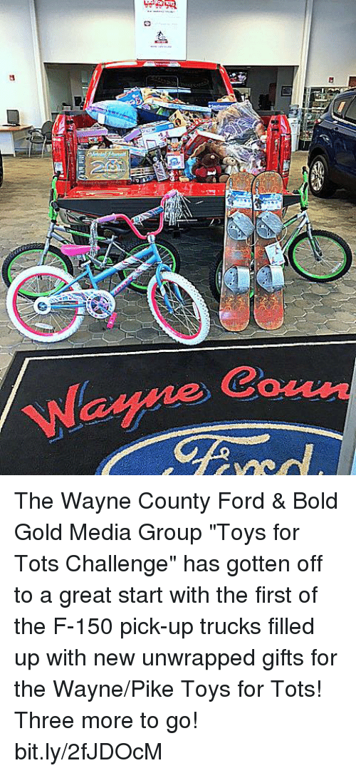 Fill A Truck 2017 Toys For Tots : Waga wayne the county ford bold gold media group