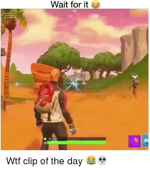 Funny, Wtf, and Day: Wait for it  223  sW Wtf clip of the day 😂💀