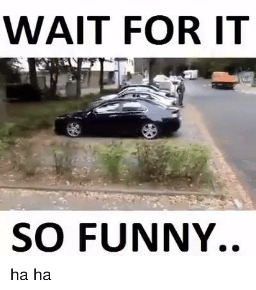 Haha So Funny Meme : Wait for it so funny ha meme on sizzle