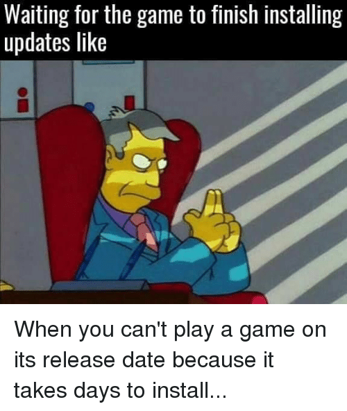 play the waiting game dating