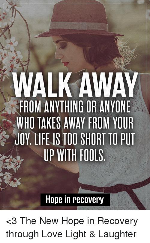 how to walk away from the love of your life