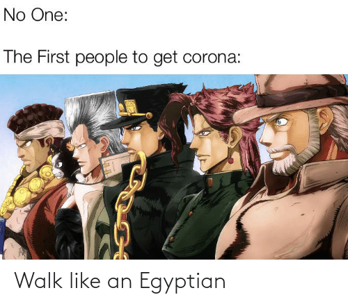 Egyptian: Walk like an Egyptian
