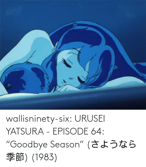 "Season: wallisninety-six:  URUSEI YATSURA - EPISODE 64: ""Goodbye Season"" (さようなら季節) (1983)"