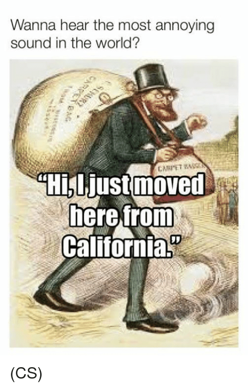 Memes, California, and World: Wanna hear the most annoying  sound in the world?  heretrom  California. (CS)