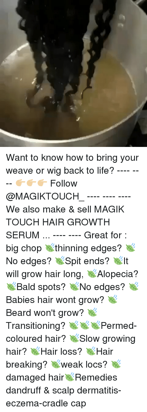 Want to Know How to Bring Your Weave or Wig Back to Life