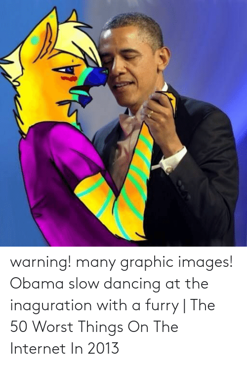 Dancing: warning! many graphic images! Obama slow dancing at the inaguration with a furry | The 50 Worst Things On The Internet In 2013