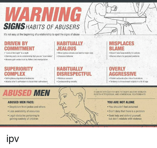 warning signs dating separated man There are 10 red flags or warning signs gay men should pay attention to on a first date with a guy some red flags are obvious and others more difficult to.
