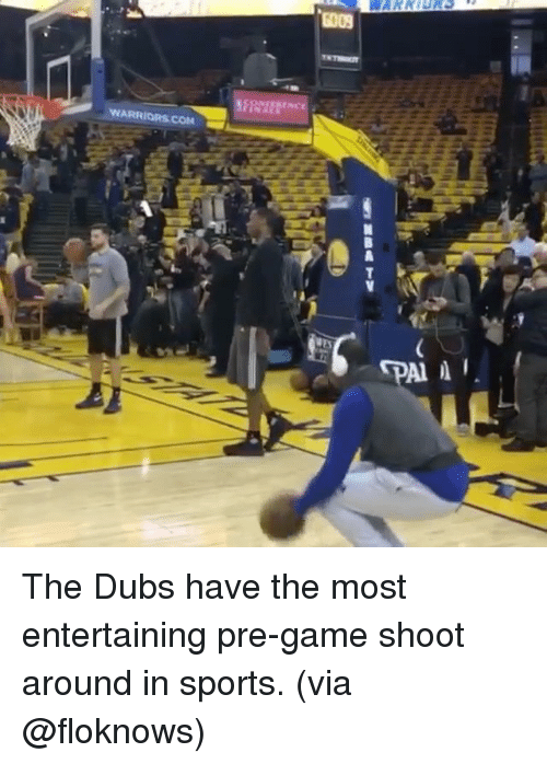 Basketball, Golden State Warriors, and Sports: WARRIORS COM  All I The Dubs have the most entertaining pre-game shoot around in sports. (via @floknows)