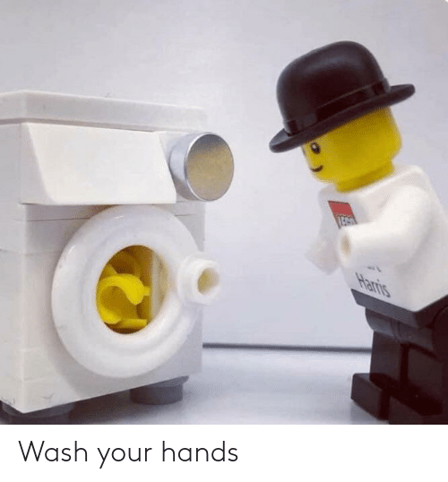 Your Hands: Wash your hands