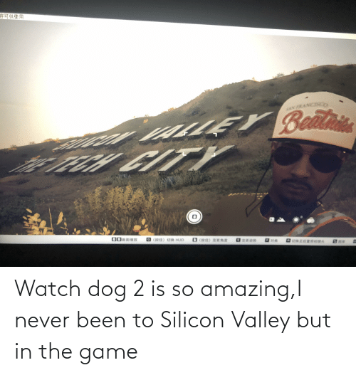 so amazing: Watch dog 2 is so amazing,I never been to Silicon Valley but in the game
