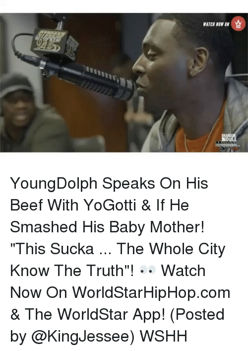 """Sucka: WATCH NOW YoungDolph Speaks On His Beef With YoGotti & If He Smashed His Baby Mother! """"This Sucka ... The Whole City Know The Truth""""! 👀 Watch Now On WorldStarHipHop.com & The WorldStar App! (Posted by @KingJessee) WSHH"""