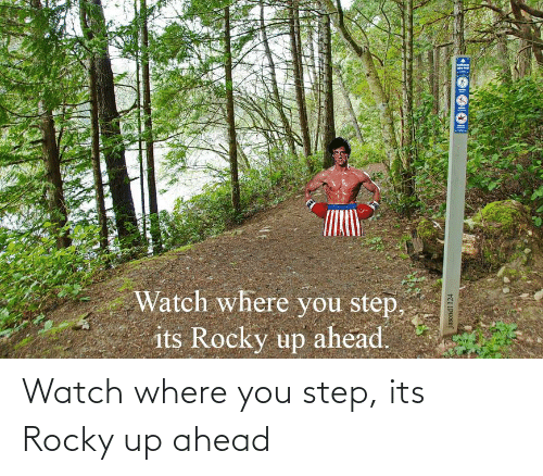 You Step: Watch where you step, its Rocky up ahead