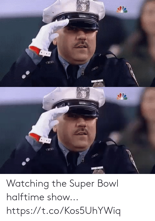 halftime: Watching the Super Bowl halftime show... https://t.co/Kos5UhYWiq