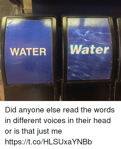 Orly: WATER Water Did anyone else read the words in different voices in their head or is that just me https://t.co/HLSUxaYNBb