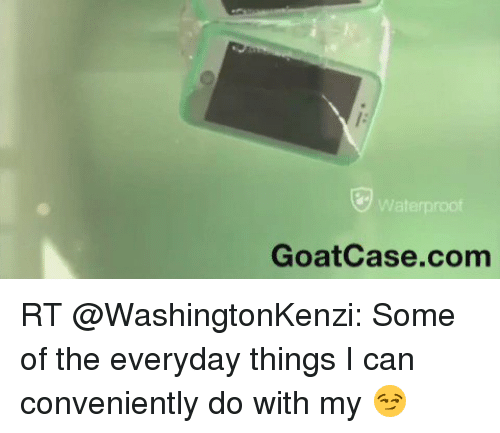 GOATcase. 11K likes. GOATcase (Greatest of All-Time Case) is a cell phone accessory giant that is revolutionizing the functionality and usefulness of.
