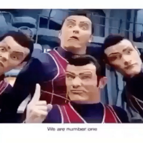 Memes, 🤖, and Number One: We are number one