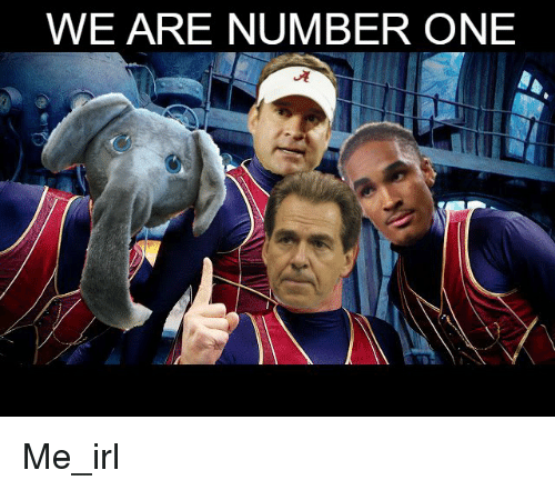 Irl, Me IRL, and Number One: WE ARE NUMBER ONE Me_irl