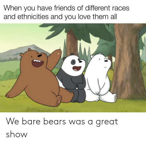 Bears: We bare bears was a great show