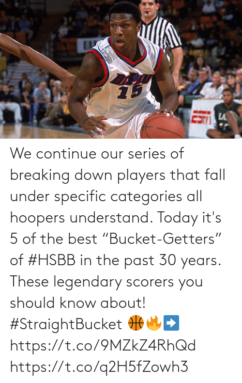 """breaking down: We continue our series of breaking down players that fall under specific categories all hoopers understand.   Today it's 5 of the best """"Bucket-Getters"""" of #HSBB in the past 30 years. These legendary scorers you should know about! #StraightBucket   🏀🔥➡️ https://t.co/9MZkZ4RhQd https://t.co/q2H5fZowh3"""